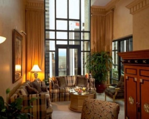 Sheraton Suites Le Soleil Hotel, Penthouse Suite, Vancouver, BC